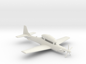 003A Super  Tucano in Flight 1/144 in White Natural Versatile Plastic