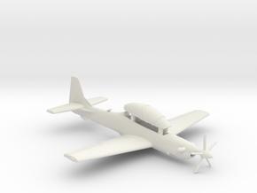 003A Super  Tucano in Flight 1/144 in White Natural Versatile Plastic