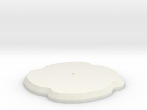 Dotna in White Natural Versatile Plastic