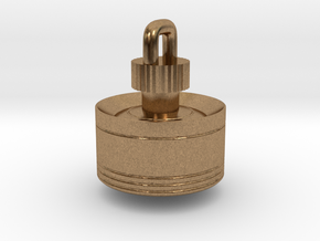 Top Pendant in Natural Brass