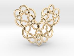 Heart/Skull (small) in 14K Gold