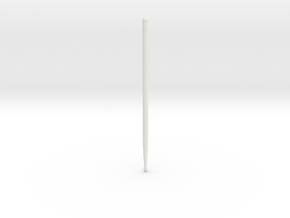 Drum Sticks Model 7A in White Strong & Flexible