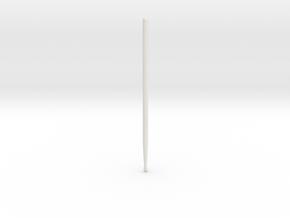 Drum Sticks Model 7A in White Natural Versatile Plastic