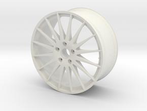 "OZ WRC 20""x9J 5x114mm (1:8) in White Natural Versatile Plastic"