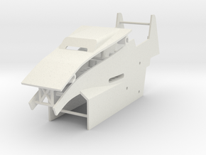 Body Panels in White Natural Versatile Plastic