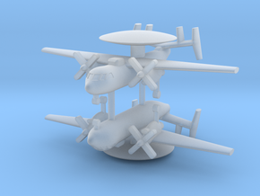 1/700 E-2A/B Hawkeye (x2) in Smooth Fine Detail Plastic