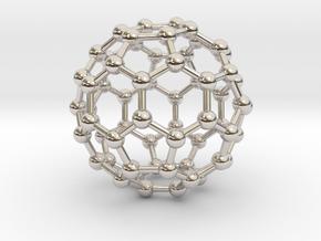 0009 Fullerene c60 ih in Platinum
