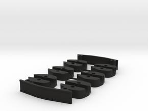 Grasshopper 300FPV Spacers set in Black Natural Versatile Plastic