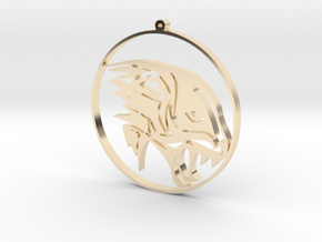 Penther Pendant in 14K Gold