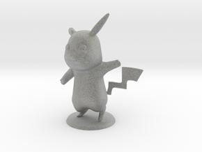 Pikachu in Metallic Plastic
