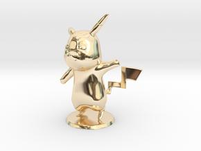 Pikachu in 14K Yellow Gold