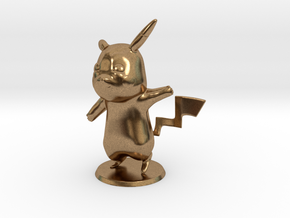 Pikachu in Natural Brass