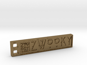ZWOOKY Style 07 Sample in Polished Bronze