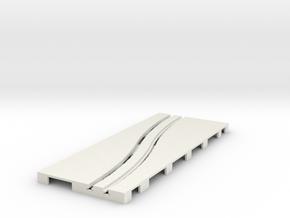 P-65stp-road-left-exch-145r-100-pl-1a in White Natural Versatile Plastic