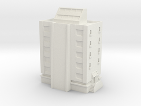 Apartment with Penthouse in White Natural Versatile Plastic