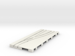 P-65stp-road-right-point-145r-100-pl-1b in White Natural Versatile Plastic