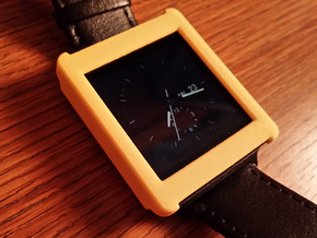 LG G Watch Case in Yellow Processed Versatile Plastic