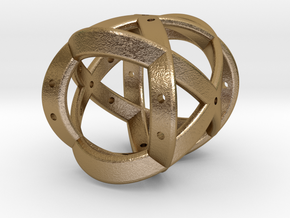 Dice150 in Polished Gold Steel