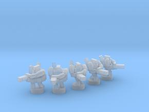 UWN - Infanty Squad [Minigun] in Smooth Fine Detail Plastic