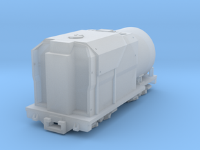 1:87 Ja Tender And Bogie Sideframes Oil in Smooth Fine Detail Plastic
