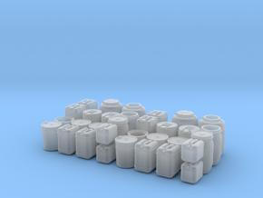 Liquid container set in Smooth Fine Detail Plastic