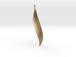 Leafy1 in Polished Gold Steel