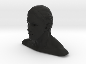 Daemon head in Black Natural Versatile Plastic