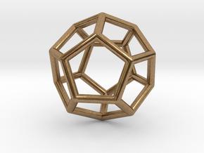 0022 Fullerene c20ih Bonds (Dodecahedron) in Natural Brass