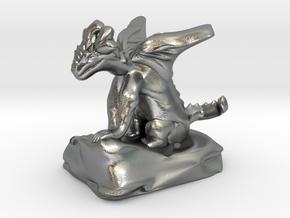 Pseudodragon Companion for Ranger or Warlock in Natural Silver