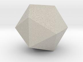 Icosahedron in Natural Sandstone