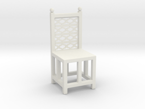 Chair in White Strong & Flexible
