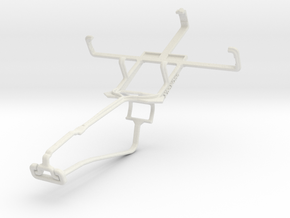 Controller mount for Xbox One Chat & Acer Liquid Z in White Natural Versatile Plastic