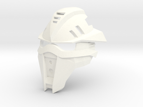 Kanohi Himata - Mask of Weight Increase (Bionicle) in White Processed Versatile Plastic