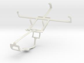 Controller mount for Xbox One & Alcatel Pop C5 in White Natural Versatile Plastic