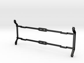 """VR narrow gauge 29'6"""" Bogie baseplate V2 in Matte Black Steel"""