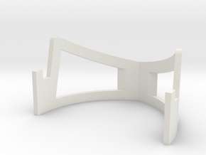 Knights Templar Seal Stand in White Natural Versatile Plastic