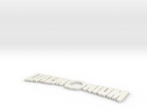 Daemonium in White Natural Versatile Plastic