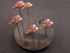10 Aggressor interceptors in White Strong & Flexible