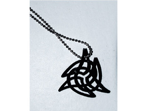 Triquetra 4 in Black Natural Versatile Plastic