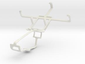 Controller mount for Xbox One & BLU Dash JR in White Natural Versatile Plastic