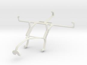 Controller mount for Xbox 360 & BLU Studio 5.0 S in White Natural Versatile Plastic