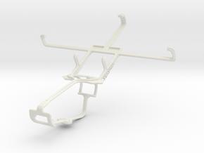 Controller mount for Xbox One & Celkon AR50 in White Natural Versatile Plastic