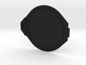 77mm Flip Lens Cap - Cap in Black Natural Versatile Plastic