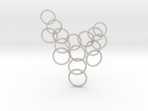 Ring Pendant in Natural Sandstone