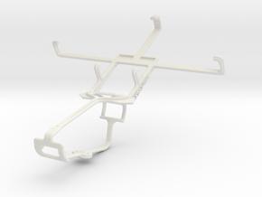 Controller mount for Xbox One & Gigabyte GSmart Ak in White Natural Versatile Plastic