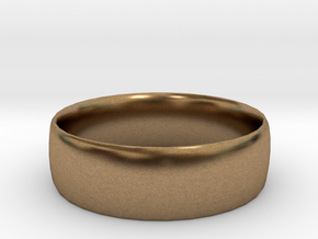 Plain Ring 20 mm x 20mm  in Natural Brass