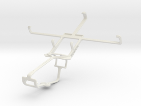 Controller mount for Xbox One & Gionee Elife E7 in White Natural Versatile Plastic