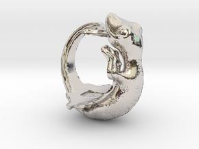 Gecko size16 in Platinum