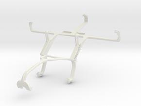 Controller mount for Xbox 360 & HTC Desire 500 in White Natural Versatile Plastic