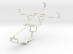 Controller mount for Xbox One & HTC Desire C in White Natural Versatile Plastic